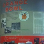 Marlins tribute to the Miami Orange Bowl