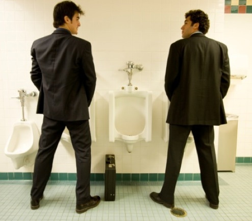 15 Men's Restroom Rules