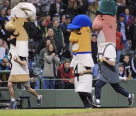 Sausage Races in Milwaukee