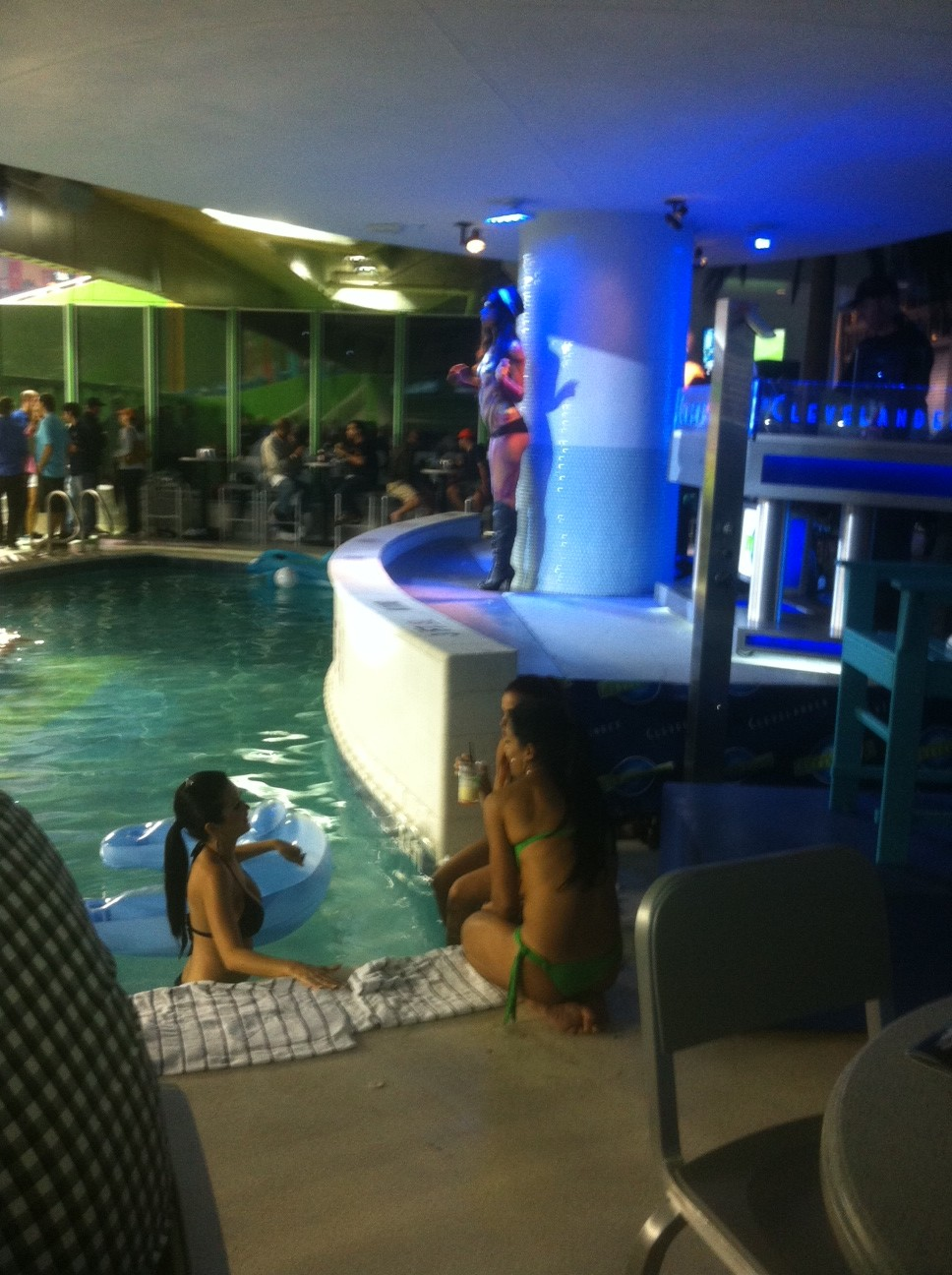 Pool at Clevelander Bar at Marlins Park