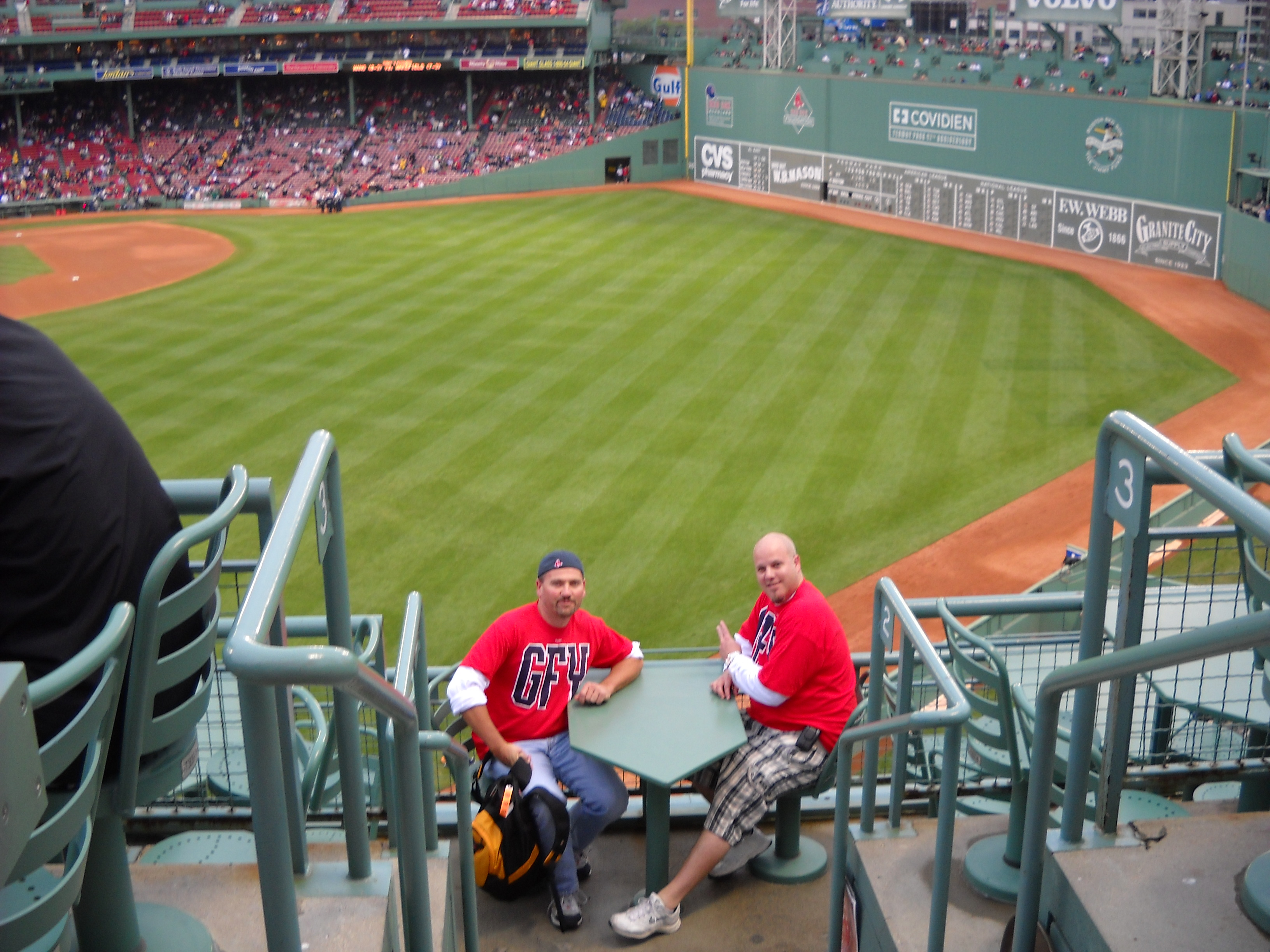 Fenway Park, Boston, 2009 GFY Tour