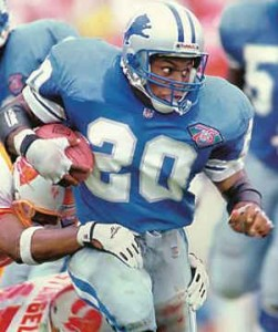 Barry Sanders, RB, Detroit Lions