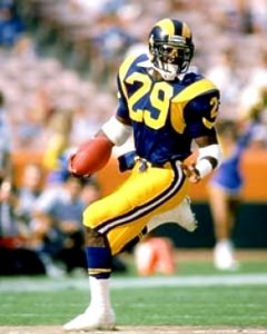 Eric Dickerson, RB, St. Louis Rams
