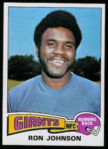 Ron Johnson, RB, N.Y. Giants
