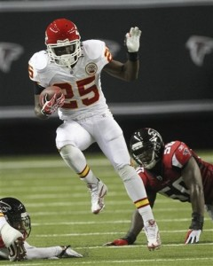 Jamaal Charles, RB, KC, What's the Best Draft Spot