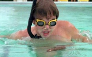 Baby Ruth in the pool -- Caddyshack -- DOOKIE!!!