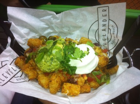 Tater Tachos at the Clevelander at Marlins Park