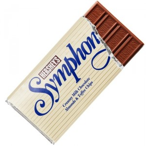 Hershey's Symphony Bar with Milk Chocolate and Almond Toffee