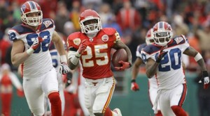 Jamaal Charles, RB, Kansas City - Worst Fantasy Picks Ever
