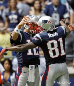 Tom Brady, Randy Moss, New England Patriots - Fantasy Football