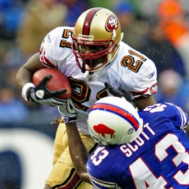 Frank Gore, RB, SF - 2012 Mock Draft