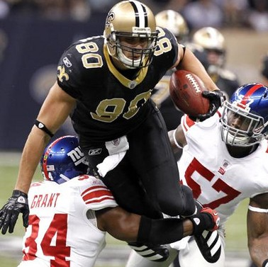 Jimmy Graham, New Orleans Saints 2012 Fantasy Tight End Rankings