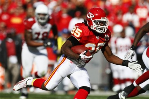 Jamaal Charles, RB, Kansas City Chiefs -- Fantasy Football