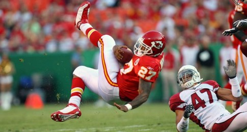 Larry Johnson, RB, Chiefs - Worst Fantasy Picks Ever