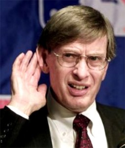 Bud Selig - Fantasy Football commissioner