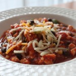 Fantasy Football Gameday: Spicy Lowfat Turkey Chili Recipe