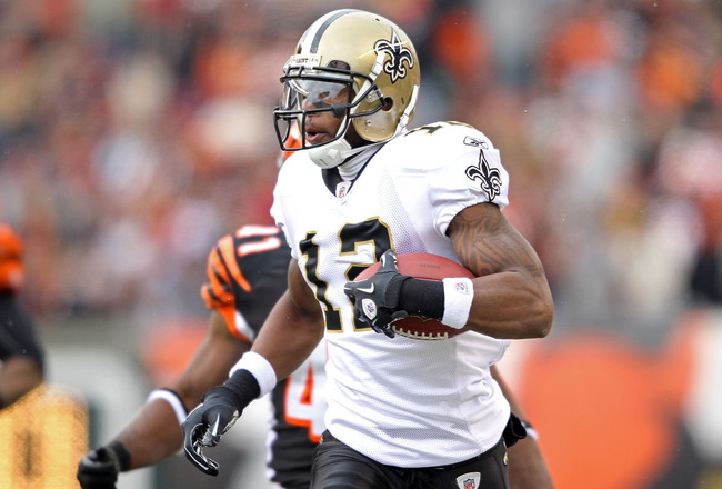 Marques Colston, Week 7 Fantasy Football Rankings