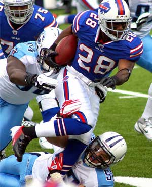 Buffalo RB C.J. Spiller - 2014 Fantasy Mock Draft