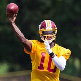 Robert Griffin III, Best Fantasy Rookie QB Ever?