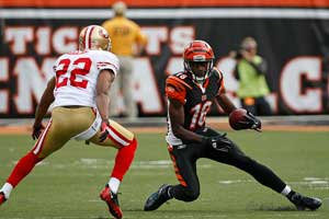 A.J. Green, 2013 Fantasy Football Mock Draft