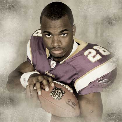 Adrian Peterson, 2013 Fantasy Football Mock Draft