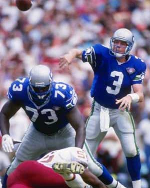 Seattle's Rick Mirer outplayed fellow rookie Drew Bledsoe, best Fantasy Rookie QBs ever