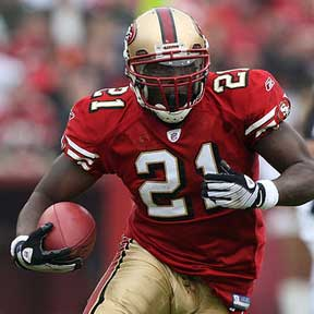 49ers RB Frank Gore, Week 15 Fantasy Football RB Rankings