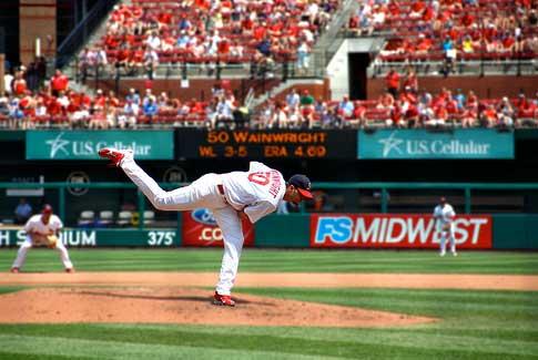 Adam Wainwright, St Louis Cardinals Daily Fantasy Baseball