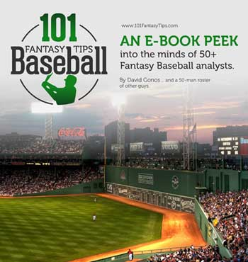 101 Fantasy Baseball Tips for 99 cents! What's the Catch!?!