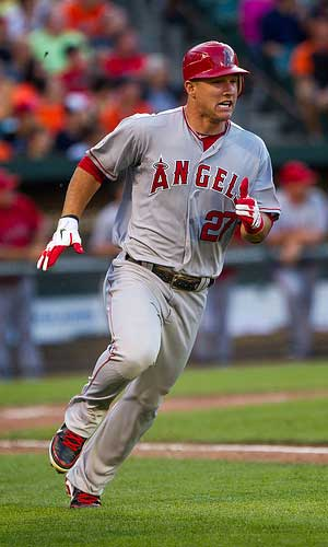 Mike Trout as a top-3 Fantasy pick