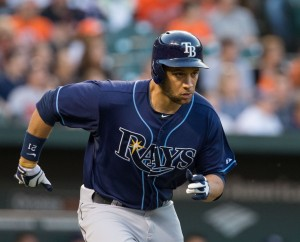 James Loney is on a historic pace that cannot be sustained. Photo by: Keith Allison.