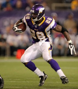 Adrian Peterson, 2013 Fantasy Running Back Rankings