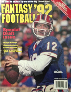 Fantasy Index - 1992 Fantasy Football Rankings