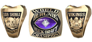 NFL Mock Draft Contests - Ourlads ring