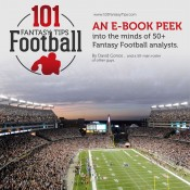 """101 Fantasy Football Tips"" e-book from 50+ Fantasy Writers"