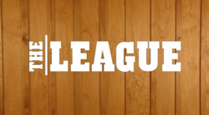 """TheLeagueintertitle"" by Television screen capture. Licensed under Fair use of copyrighted material in the context of The League via Wikipedia - http://en.wikipedia.org/wiki/File:TheLeagueintertitle.png#mediaviewer/File:TheLeagueintertitle.png"