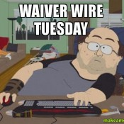Week 8 Waiver Wire