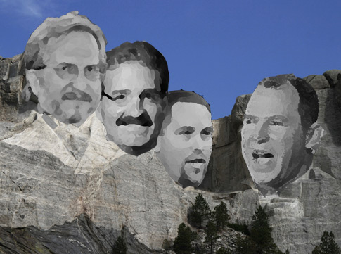 Fantasy Baseball Mount Rushmore