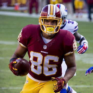 WAS-Reed-Keith Allison - 2016 Fantasy Tight End Rankings