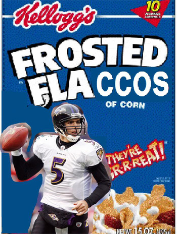 Fantasy Football Team Names - Frosted Flaccos