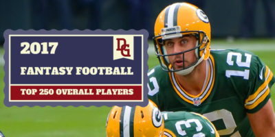 Top 250 Overall Fantasy Football Rankings - Mike Morbeck