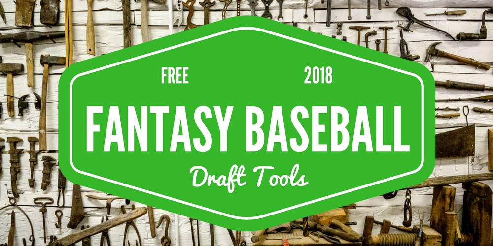 Top 33 FREE Fantasy Baseball Draft Tools Winners Use