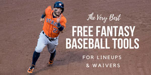 Best Free Fantasy Baseball Draft Tools