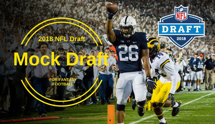 2018 NFL Mock Draft Saquon Barkley - Fantasy Football - MGoBlog featured
